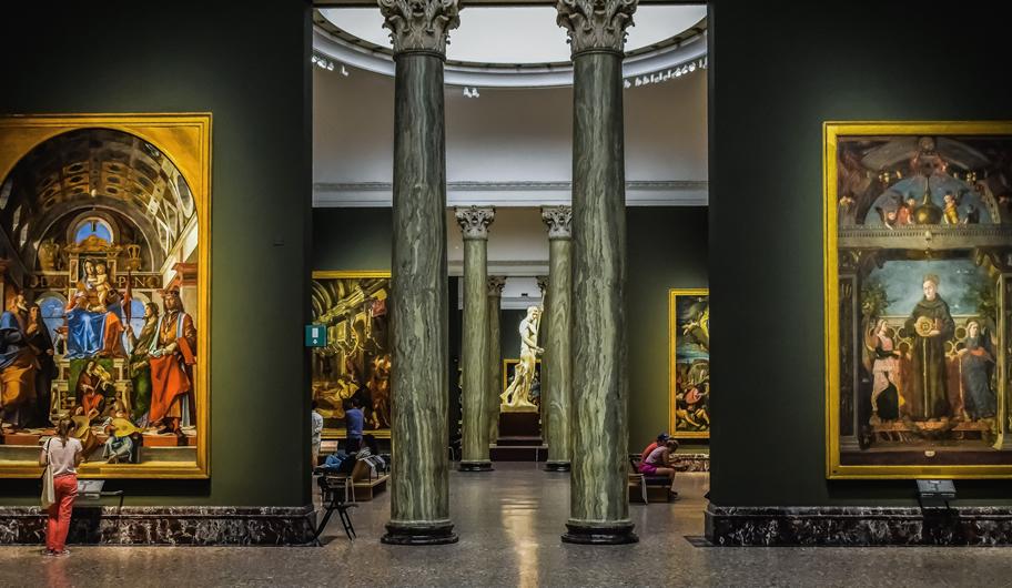 VISIT MILANO Brera Art Gallery